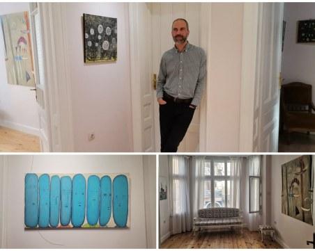 Венцислав Диков откри първата си изложба в Пловдив от 2006 насам