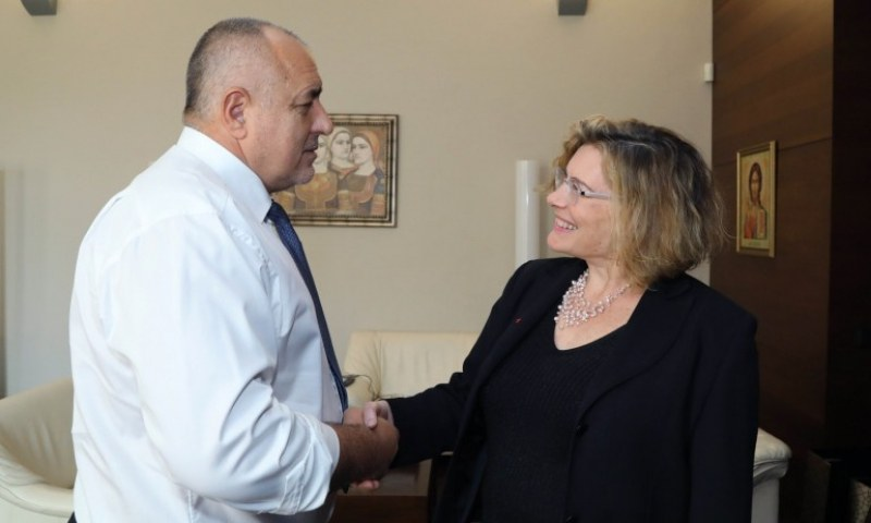 Борисов проведе разговор с посланика на Франция Флоранс Робин