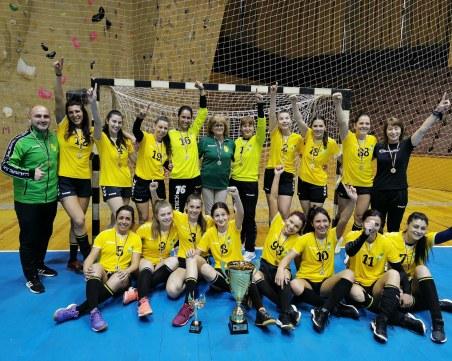 Свиленград спечели за първи път шампионската титла по хандбал
