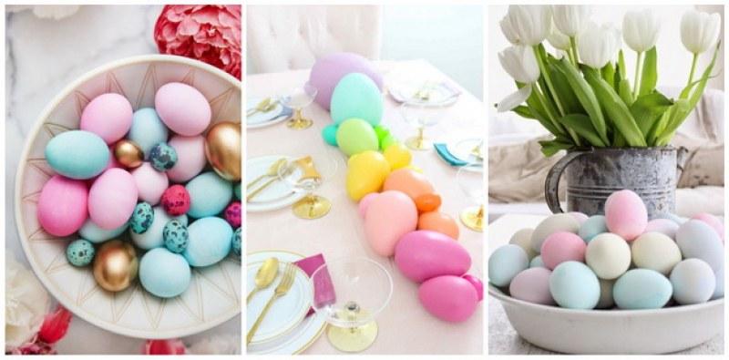 Как да си направите нежни, пастелни великденски яйца?