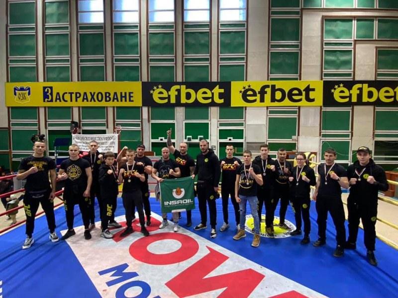 Пловдивски клуб с 14 медала от Държавното по кикбокс