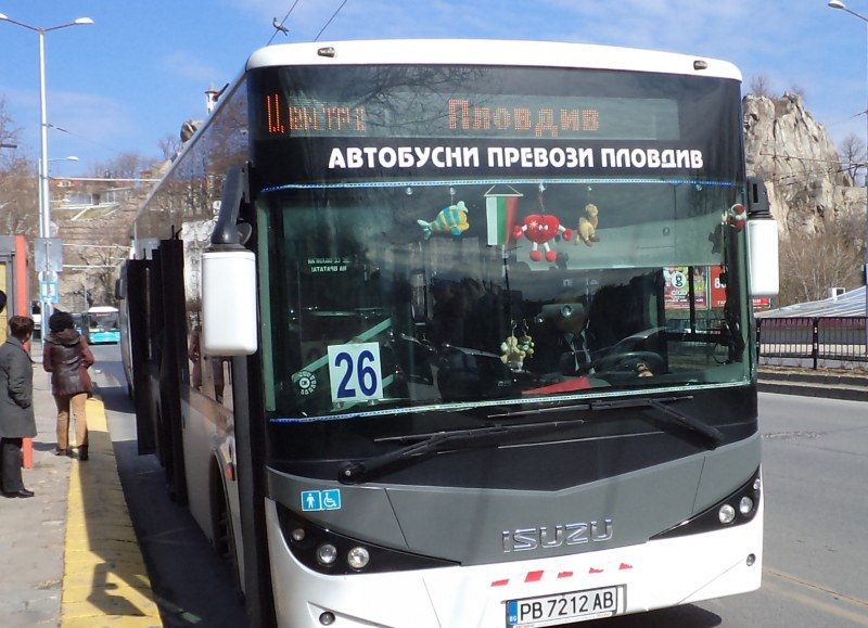 Автобусите в Пловдив - с неделно разписание за празниците