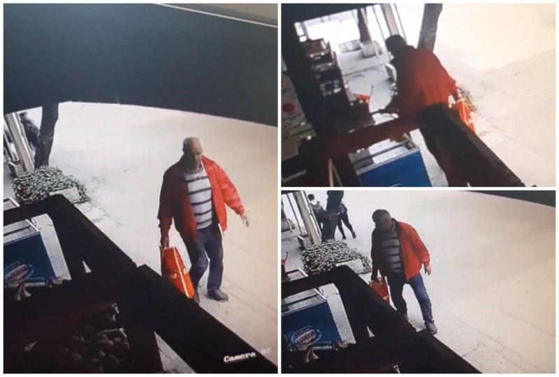 Мъж задигна телефона на 12-годишно момче, виждали ли сте го?