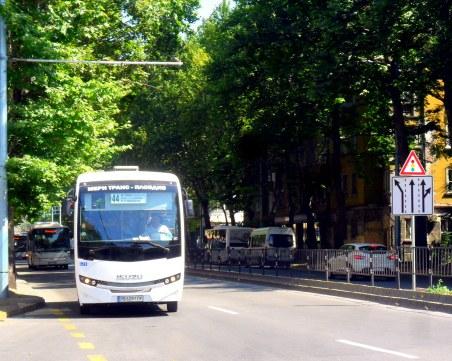ВиК ремонт затруднява движението в центъра на Пловдив