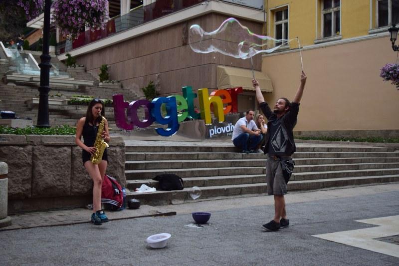 Флашмоб в центъра на Пловдив днес, откриват и Великденския базар Капана