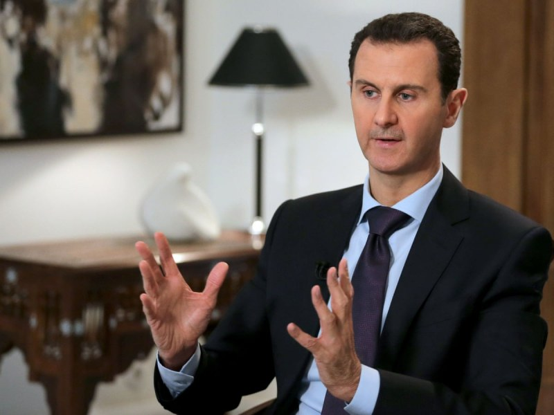 Башар Асад срещу двама опоненти в президентските избори в Сирия