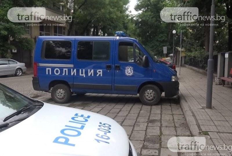 Гонка завърши с арест и ранен полицай