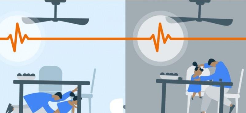 Google с иновативна система за засичане на земетресения, разширява обхвата ѝ