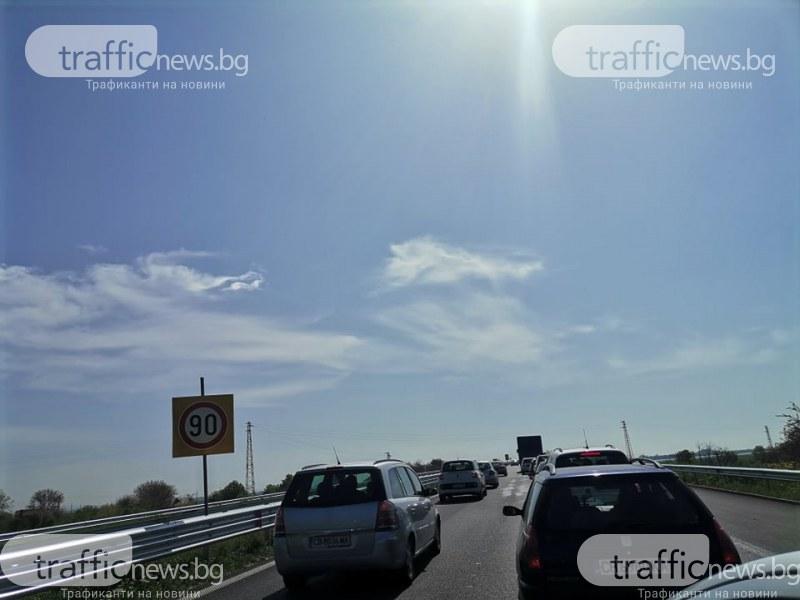 Накъде отпътуваха столичани? Близо половин милион коли са излезли от София на 29 и 30 април