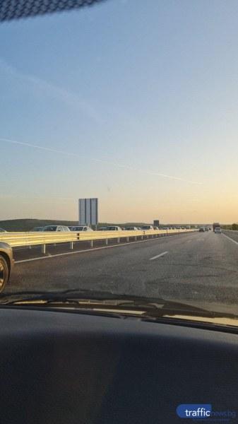"""Голямото прибиране: Пътна полиция ще регулира движението на АМ """"Тракия"""