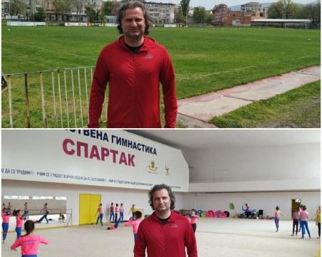 Николай Праматаров от футболния терен до художествената гимнастика