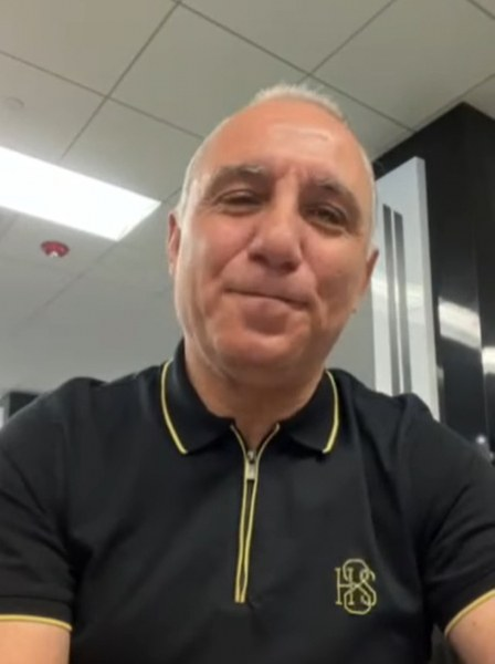 Христо Стоичков поздрави ЦСКА за рождения ден