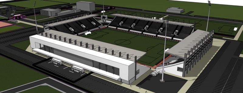 Община Пловдив издаде разрешение за строеж на стадион