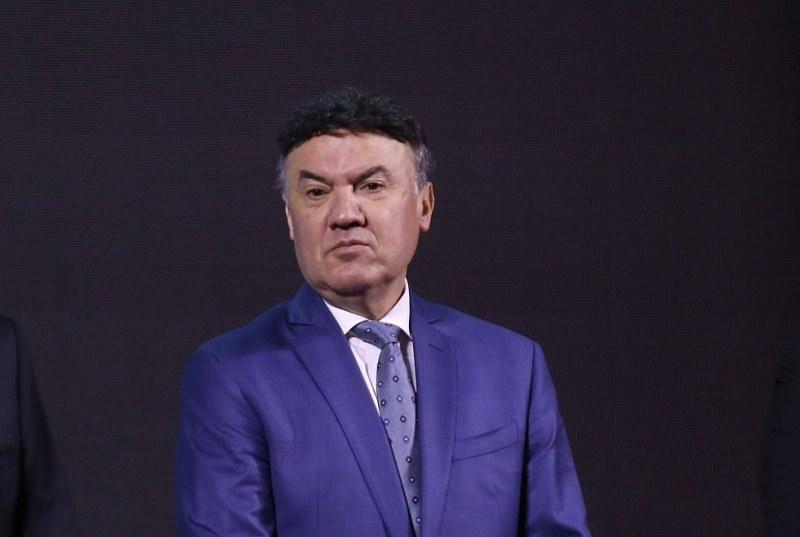Търговският регистър отказа да впише Борислав Михайлов като президент на БФС