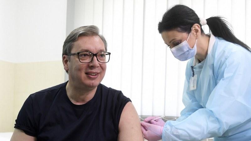 Всички ваксинирани сърби ще получат