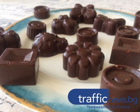 Как да си направим здравословни шоколадови бонбони?