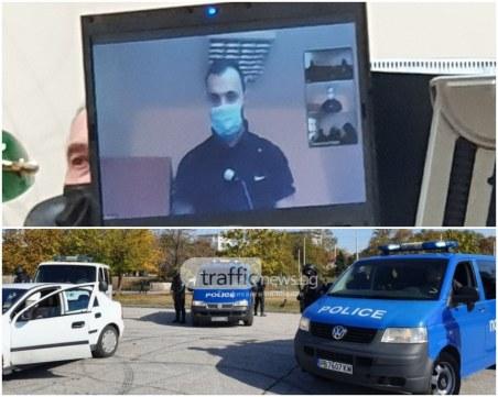 Друсан пловдивчанин бяга от полицията, крие се в храстите край Гребната и обвинява майка си