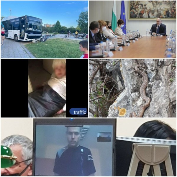 ОБЗОР: Автобус се качи на тротоар край пловдивско училище, партиите с консенсус за ЦИК