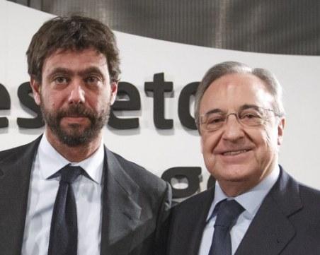 Барселона, Реал Мадрид и Ювентус с общо становище