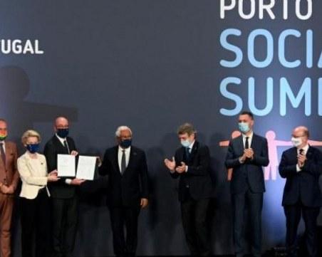 ЕС прие Декларация за заетостта и бедността на срещата на върха в Порто