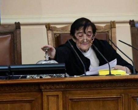 Мика Зайкова: Не знам дали Слави ще е в листите, момчето е болно