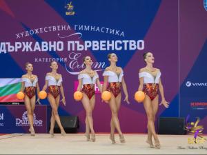 Ансамбълът по художествена гимнастика спечели злато в многобоя от Световната купа в Баку
