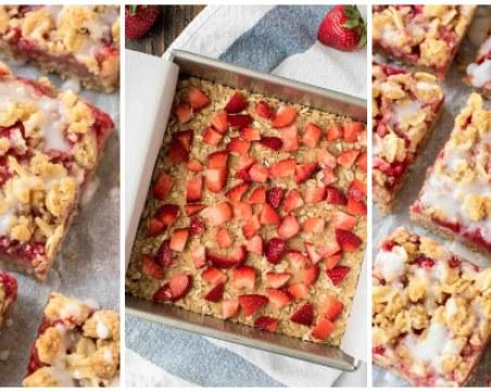 Без гузна съвест: Здравословен десерт с овесени ядки и ягоди