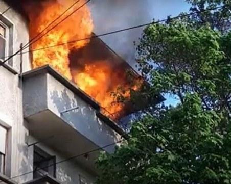 След пожара в Пазарджик: Мъж с тежки изгаряния в болница в Пловдив