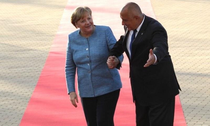 Борисов в телефонен разговор с Ангела Меркел
