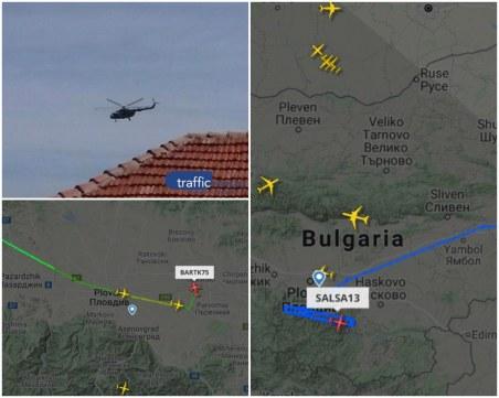 Военни самолети събудиха Пловдив, хиляди будуват заради учение