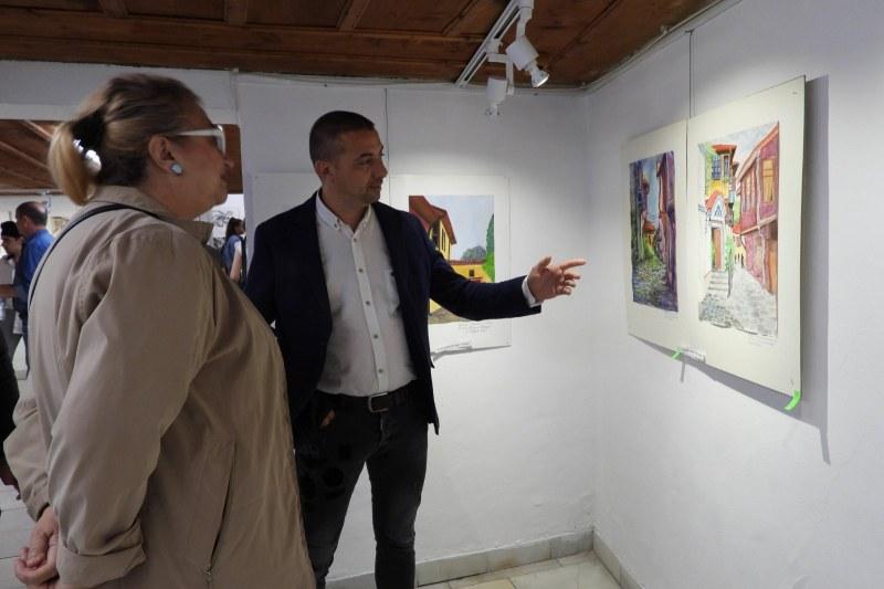 Райкметът Димитър Колев награди победителите в 20-ия Национален пленер за изобразително изкуство
