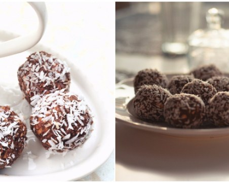Десерт без печене: Вкусни и здравословни бонбони от сушени плодове и бисквити