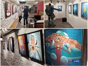 Зуека за първата си изложба в Пловдив: Да започна да рисувам, бе едно от най-хубавите неща, които ми се случиха