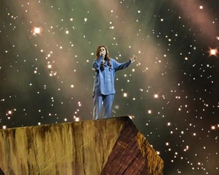 Показаха първи кадри от сценичното изпълнение на Виктория за Евровизия