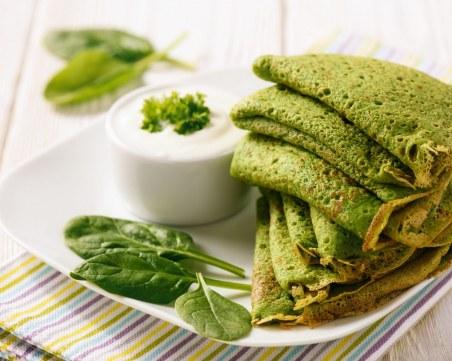 Няма да им устоите: Рецепта за зелени палачинки