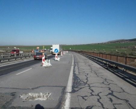 """Ограничават движението на АМ """"Тракия"""" между София и Пловдив днес"""