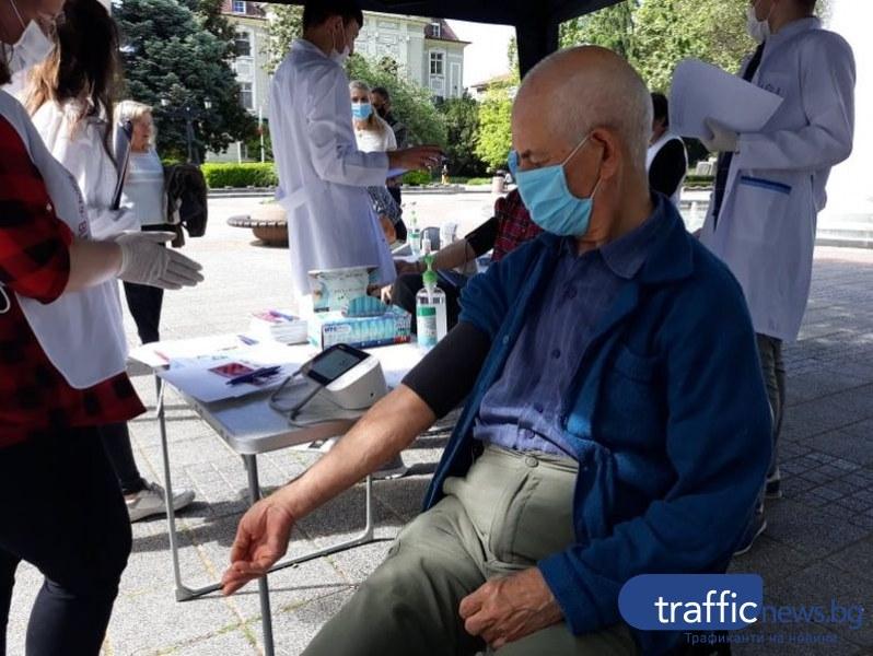 85-годишният Димо от Пловдив с кръвно на спортист: Много движение и никакви мазни храни