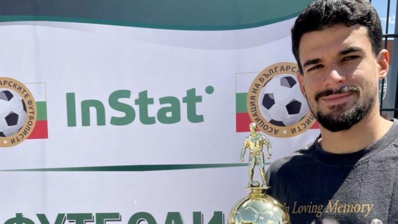 Каули е футболист номер 1 за април според InStat