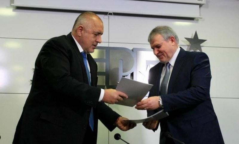 СДС започват преговори с ГЕРБ за коалиция