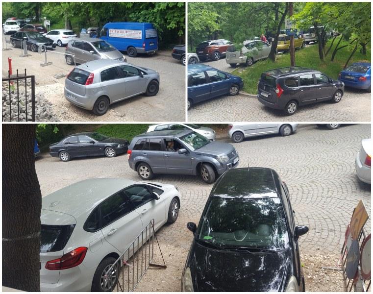 """Тетрис с коли: Абсолютен хаос при паркирането по улица """"Волга"""