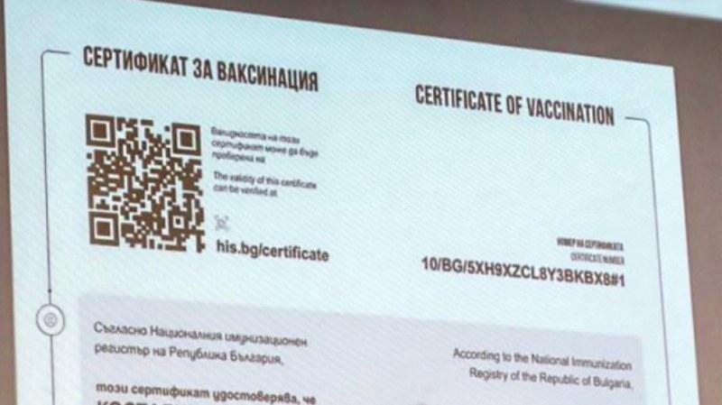 Как да коригираме сгрешени сертификати за ваксинация?