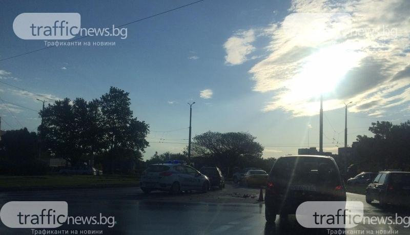 Катастрофа на кръговото кръстовище на SPS в Пловдив