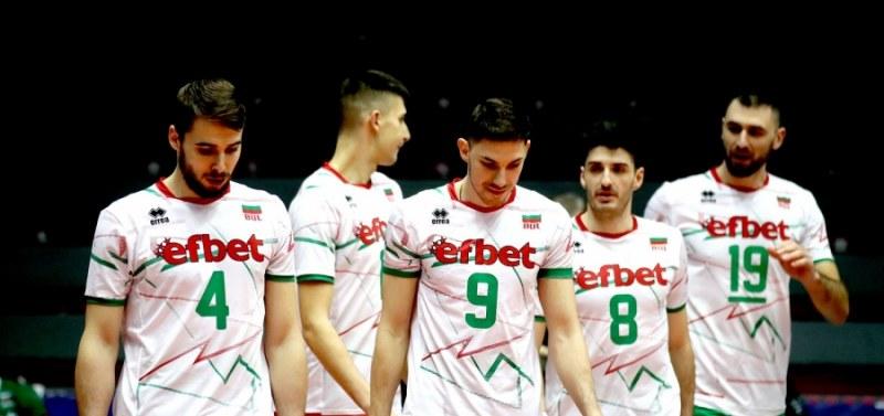Националния отбор по волейбол без двама основни играчи за Лигата на нациите