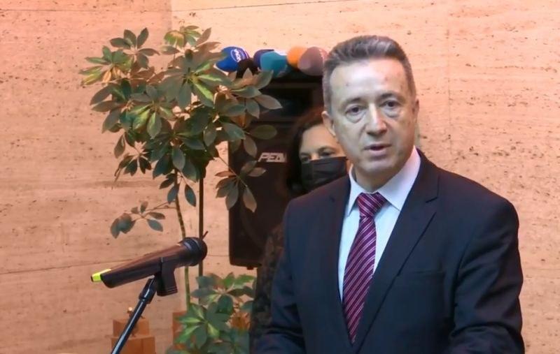 Служебният правосъден министър представи екипа си