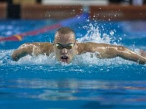 Страхотно плуване на Антъни Иванов на европейското в Будапеща, постави нов национален рекорд