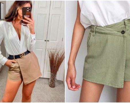Връща се старата тенденция: Пола + панталон