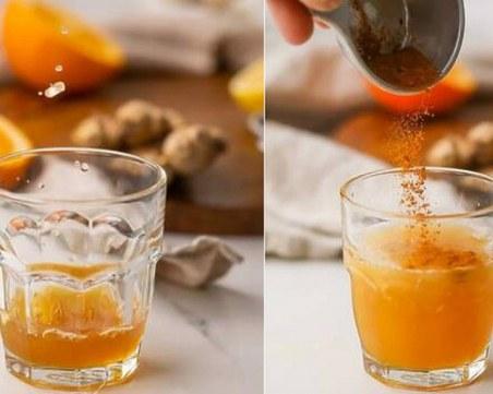 Домашна напитка с куркума за по-добър имунитет