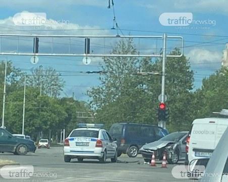 Катастрофа на кръстовище в Тракия