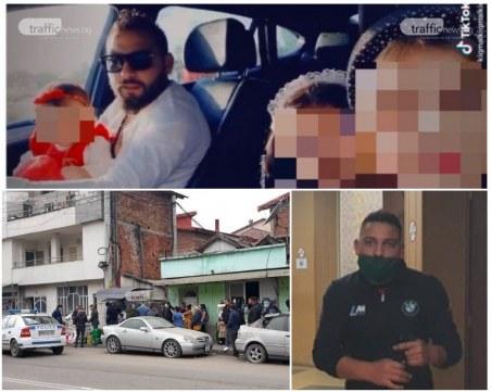 Бащата с бебе в скута зад волана се оказа безработният дилър Гонго, блъснал патрулка в Столипиново