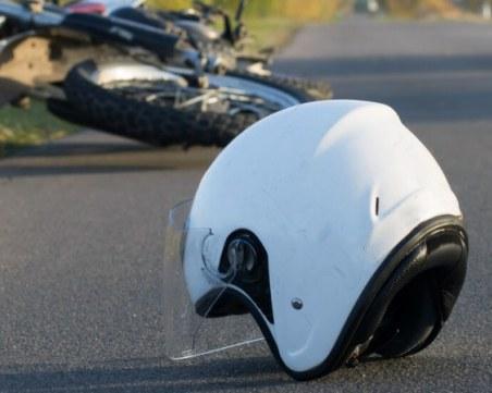 Тежка катастрофа отне живота на моторист